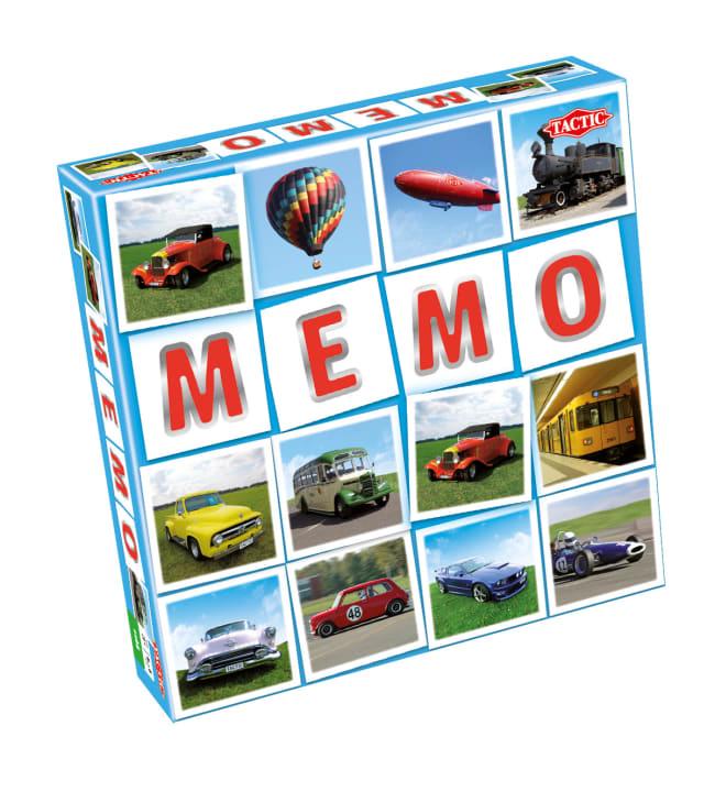 Tactic Memo+ ajoneuvot muistipeli