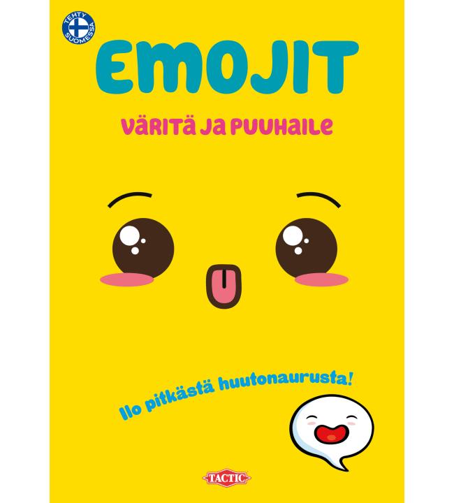 Tactic Emojit värityspuuhakirja
