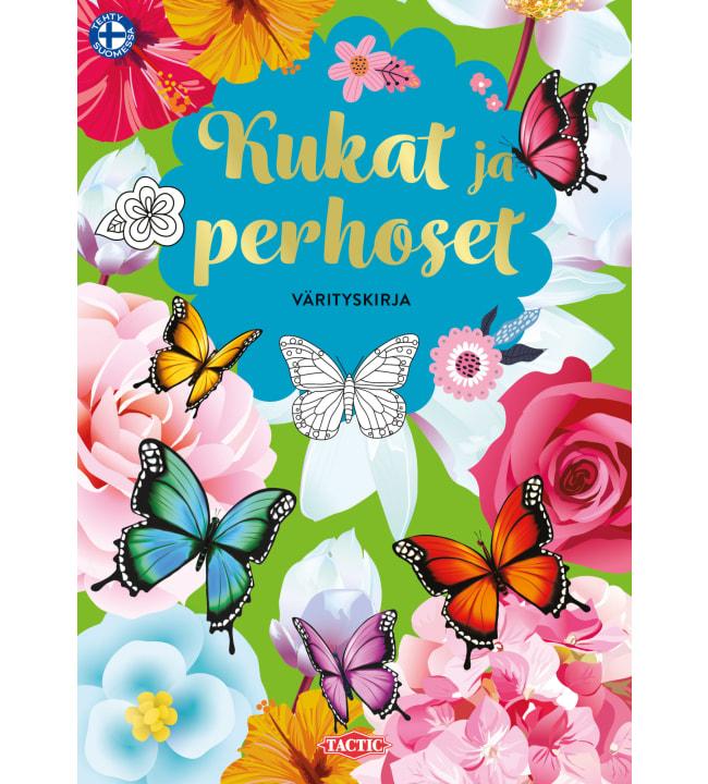 Tactic Kukat ja perhoset värityskirja