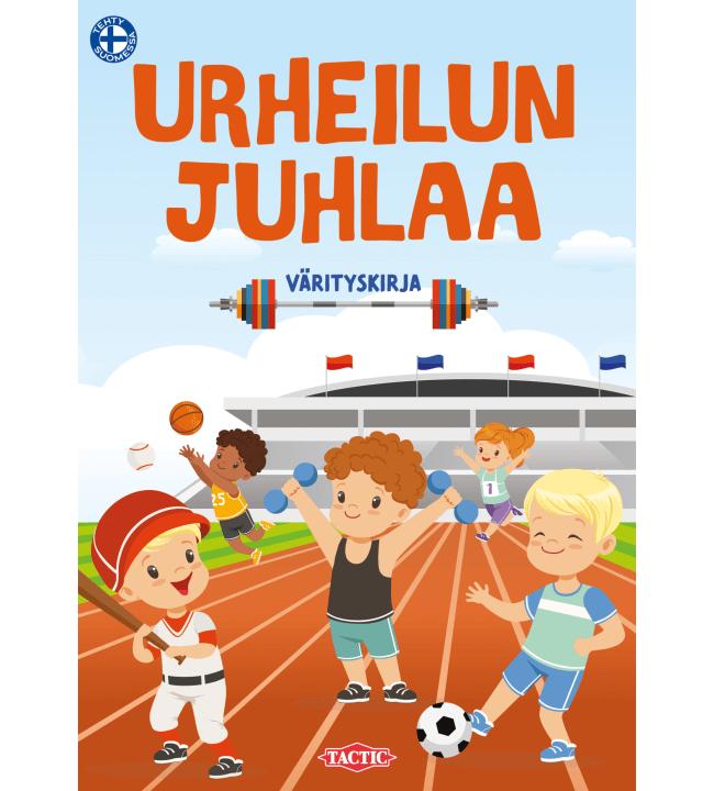 Tactic Urheilun juhlaa värityskirja