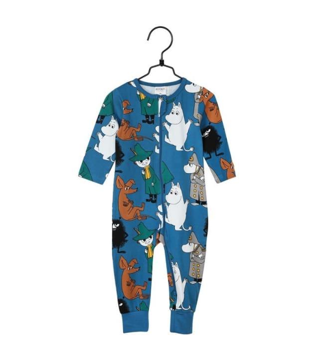 Muumi Vahtivuoro vauvojen pyjama