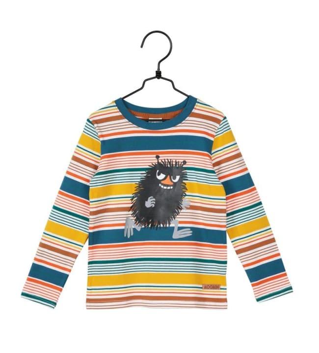 Muumi Moniväriraita lasten paita