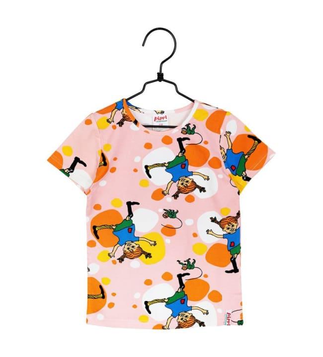 Peppi Kärrynpyörä lasten t-paita
