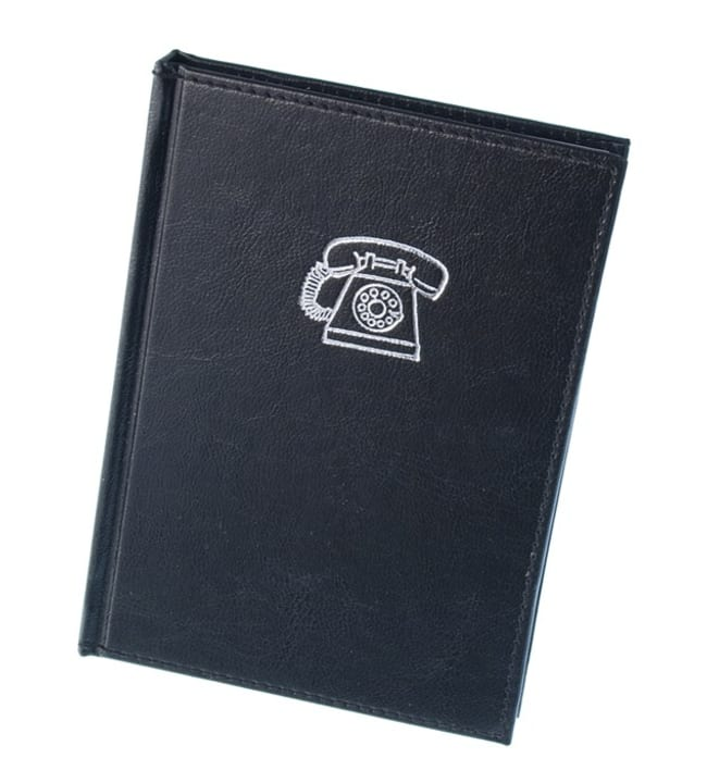 Binderbooks osoite- ja puhelinmuistio