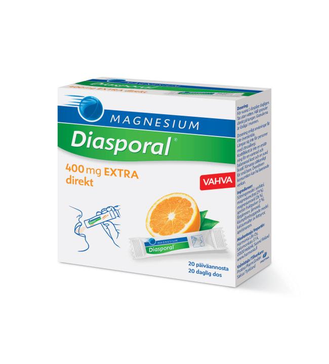 Diasporal magnesium 400 EXTRA Direkt 20 kpl/44 g