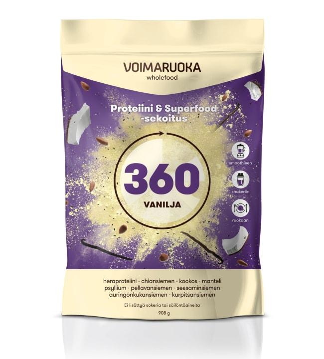 Voimaruoka 360 Wholefood 908 g vanilja