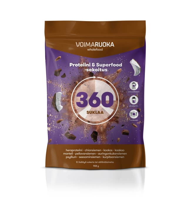 Voimaruoka 360 Wholefood 908 g suklaa