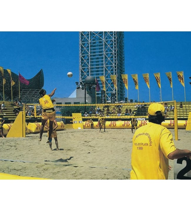 Olympic 8,5x1 m Beach volley-verkko