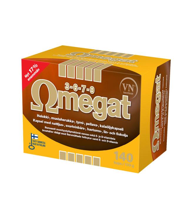 Omegat Omegat 3-6-7-9 140 kaps. ravintolisä