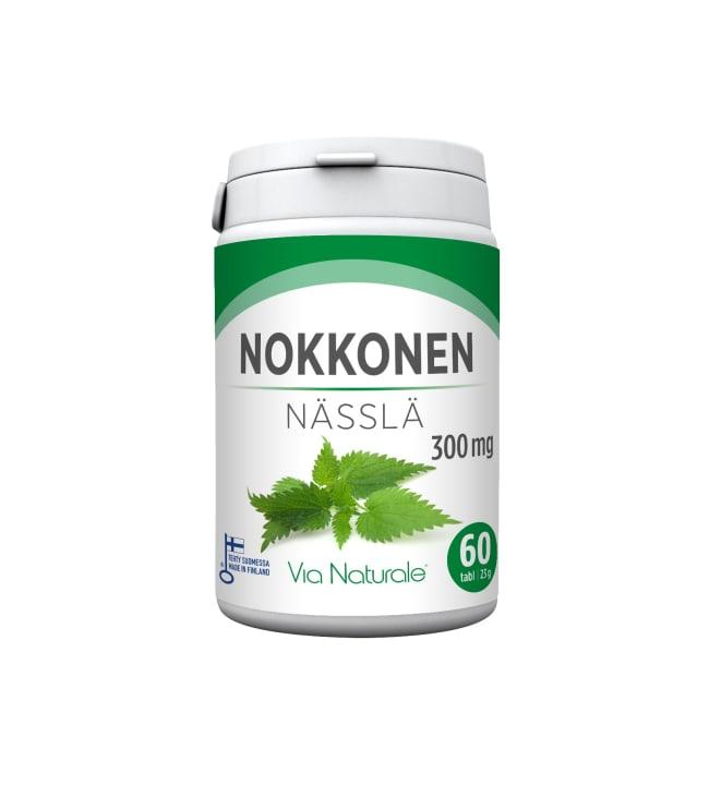 Via Naturale Nokkonen 300 mg 60 tabl. ravintolisä