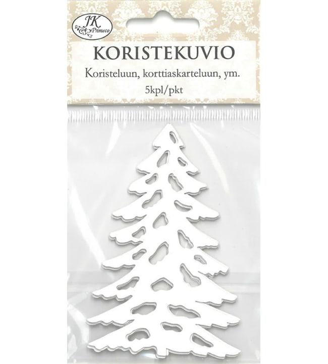 J.K. Primeco Valkoinen kuusi 5 kpl koristekuvio