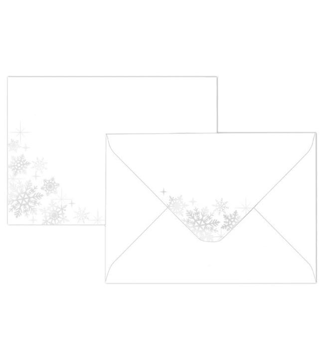J.K. Primeco Lumihiutale hopea C6 10kpl kirjekuori