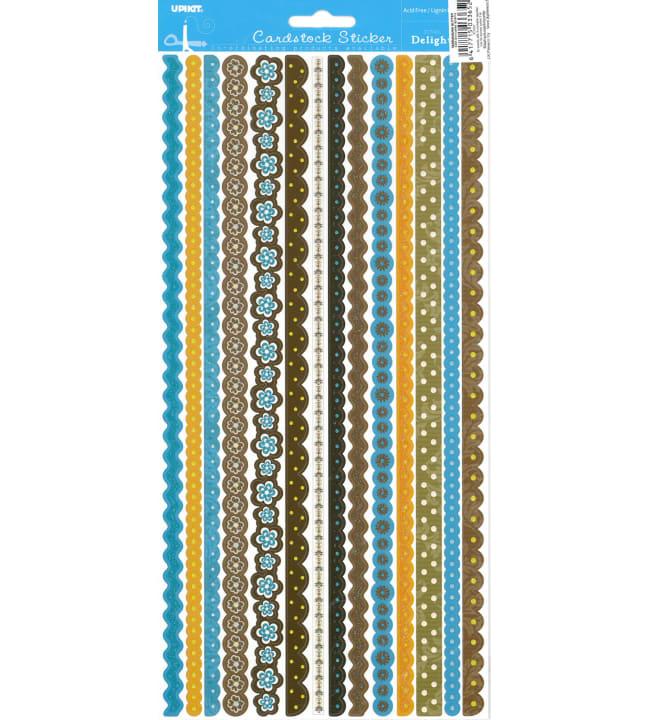 Upikit Sininen lajitelma glitter tarranauha