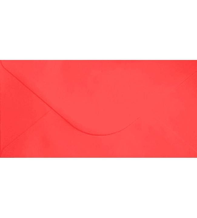 J.K. Primeco 10 kpl 22x11 cm punainen kirjekuori