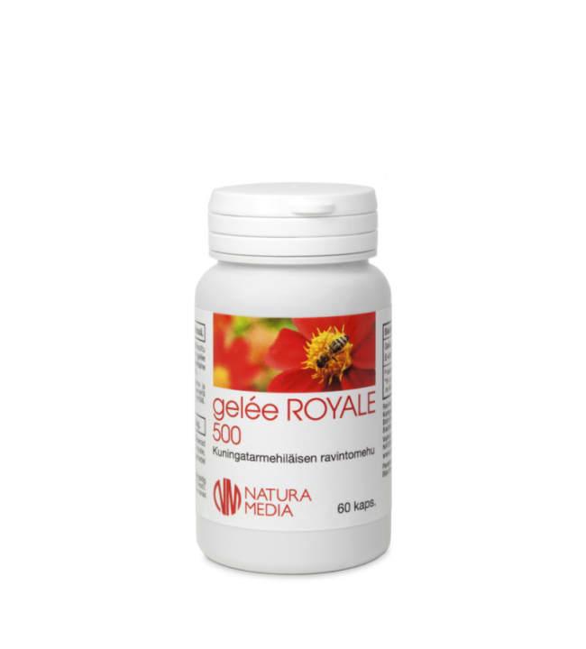Natura Media Biosorin Gelee Royale 500 60 kaps. ravintolisä