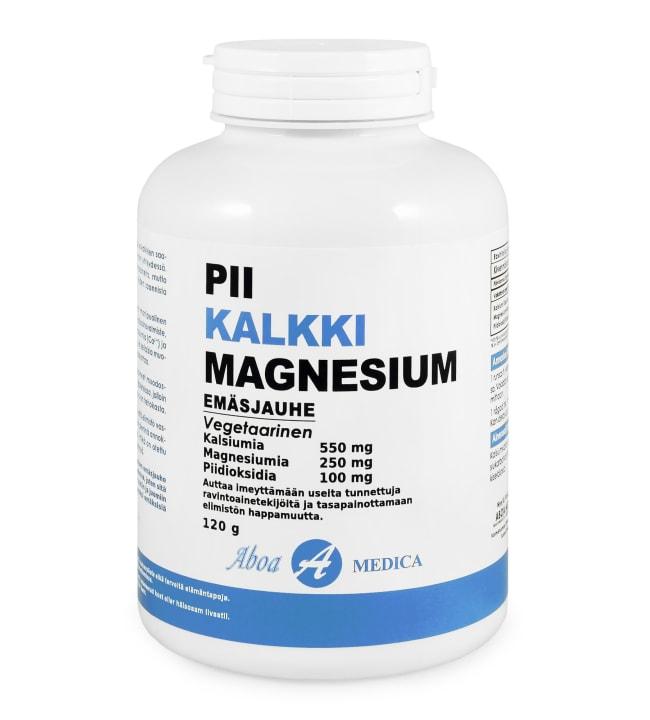 Aboa Medica Pii-Kalkki-Magnesium 120 g ravintolisä