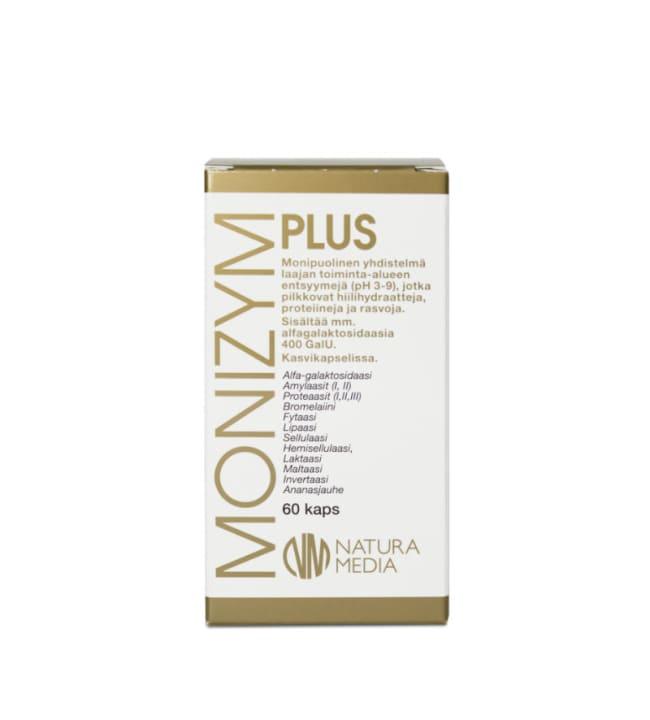 Natura Media Monizym® Plus 60 kaps. ravintolisä