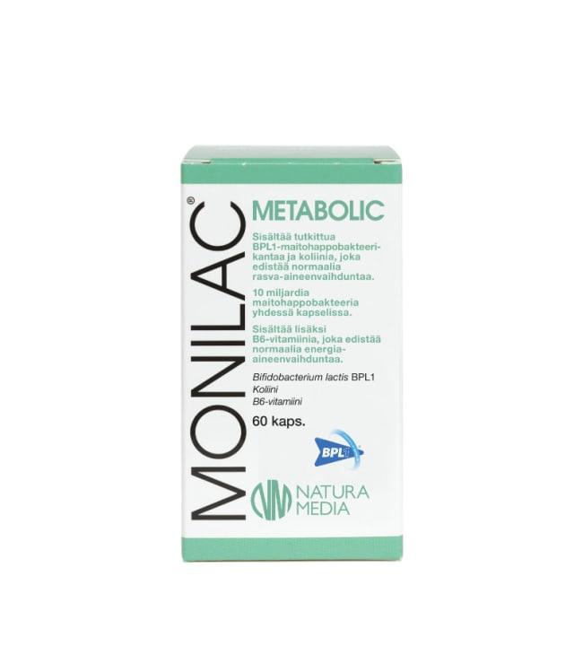 Natura Media Monilac® Metabolic 60 kaps. ravintolisä