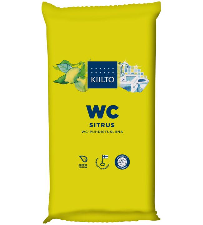 Kiilto 36 kpl Sitrus WC-puhdistusliina