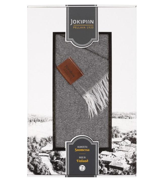 Jokipiin Pellava Graniitti harmaa 130x170 cm torkkupeitto
