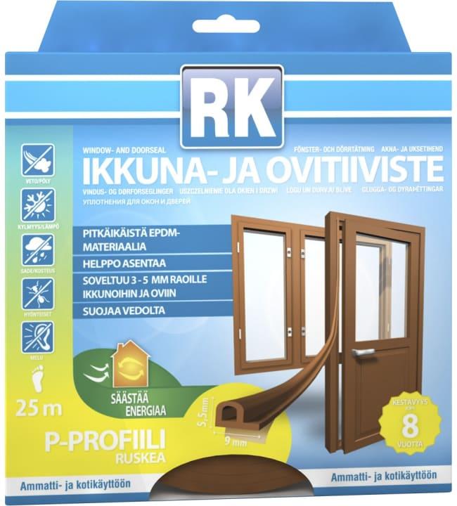 Rk P 25 m ruskea ikkuna- ja ovitiiviste