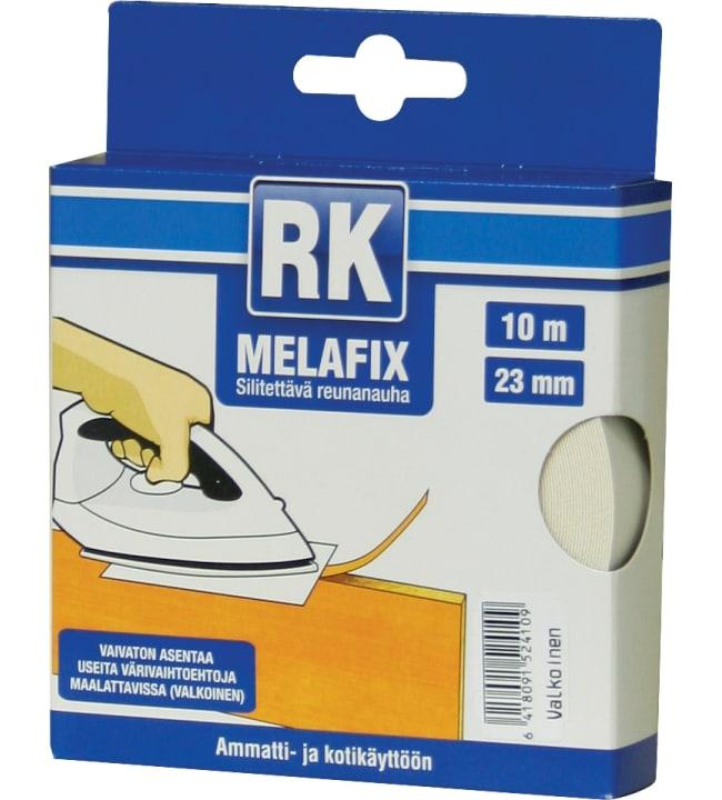 Rk melafix 10 m x 23 mm valkoinen reunanauha
