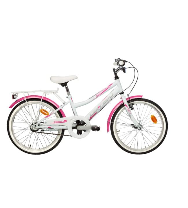 """Carraro Ballerina 20"""" 3-vaihteinen tyttöjen polkupyörä"""