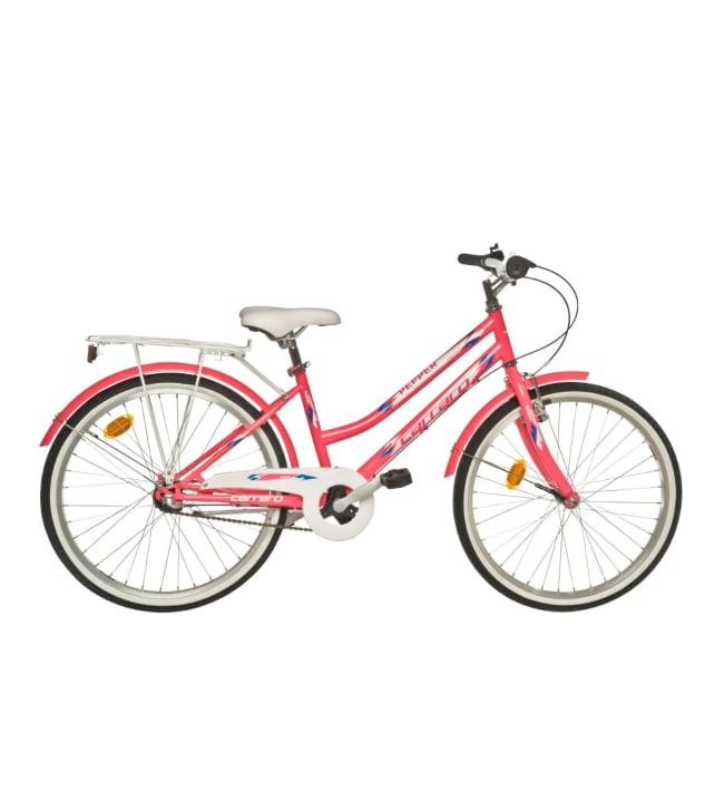"""Carraro Pepper 24"""" 3-vaihteinen tyttöjen polkupyörä"""