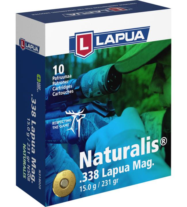 Lapua 338 Naturalis LR 15g 10 kpl patruuna