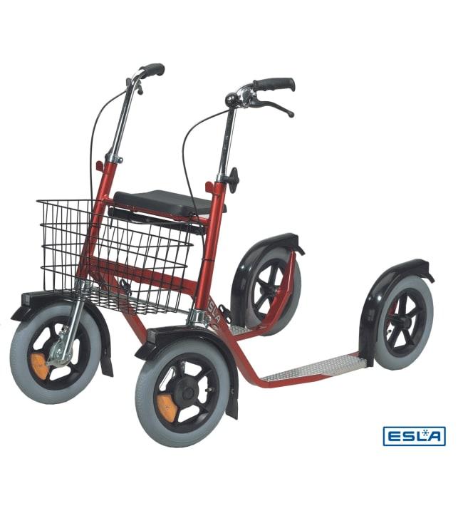 Esla 3300 punainen potkupyörä