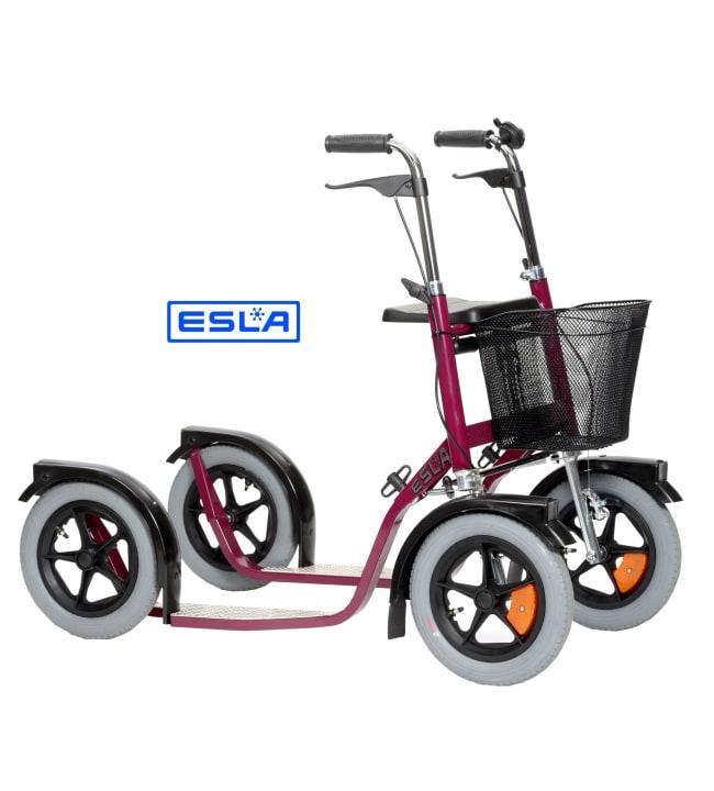 Esla CityMax 3800 punainen potkupyörä