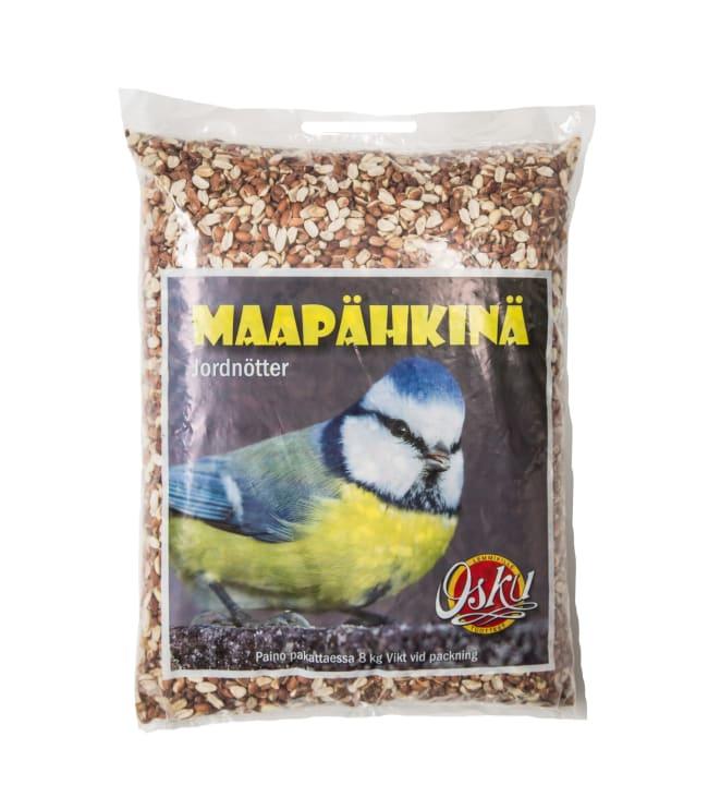 Osku 8 kg rikottu maapähkinä ulkolinnuille