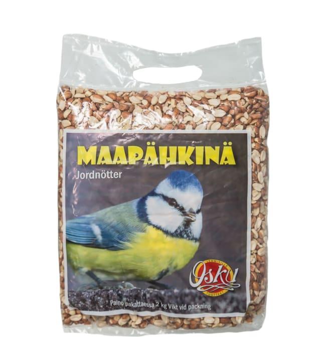 Osku 2 kg rikottu maapähkinä ulkolinnuille