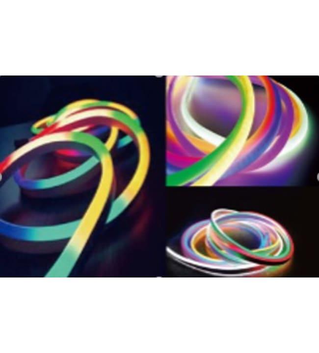 Led Energie 5m RGB+WW Neon led-valonauha kauko-ohjaimella