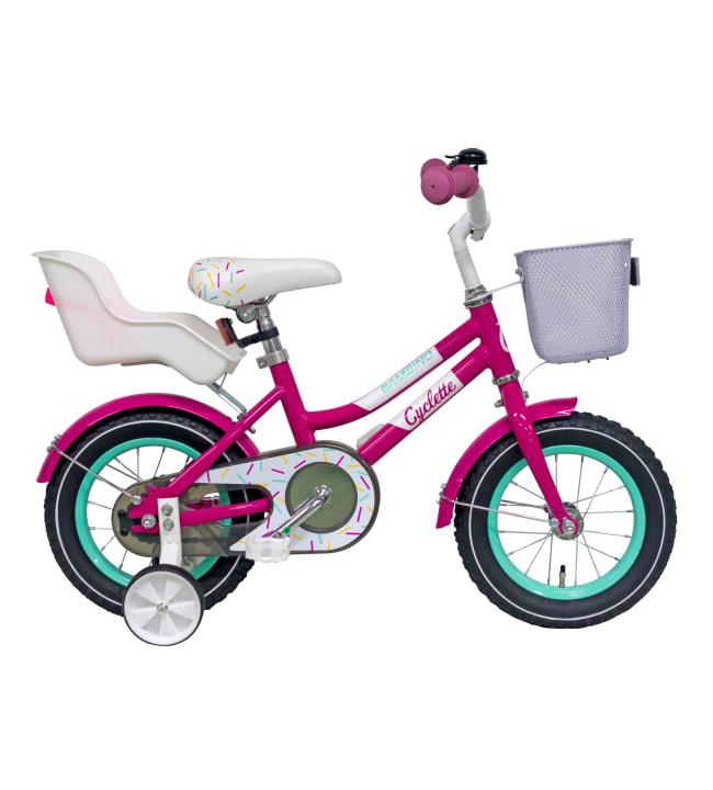 """Cyclette Bambino 12"""" 1-vaihteinen polkupyörä"""