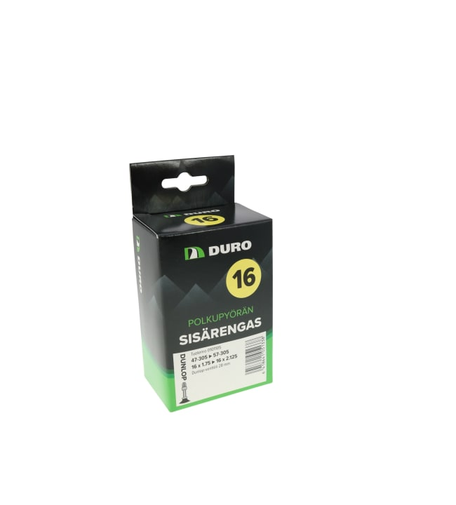 "Duro 16"" 47/54-305 Dunlop 28 mm sisärengas"