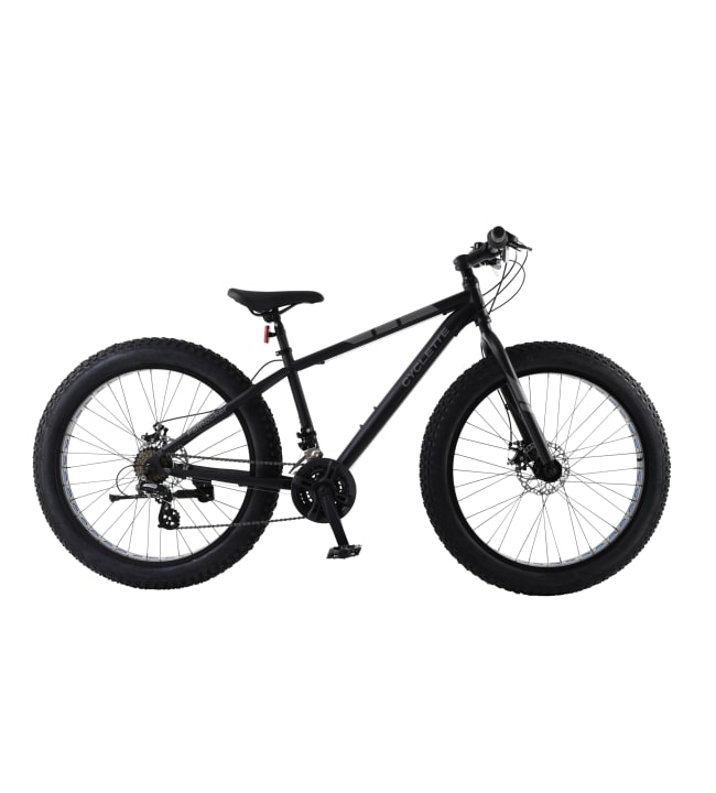 """Cyclette FatRocker 26"""" 21v Fatbike"""