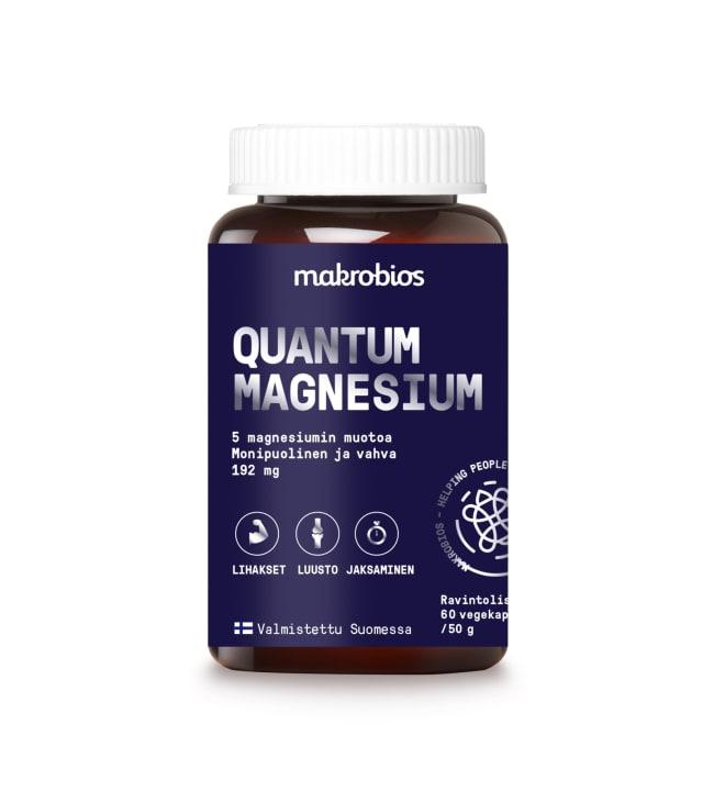 Makrobios Quantum Magnesium 60 kaps. ravintolisä