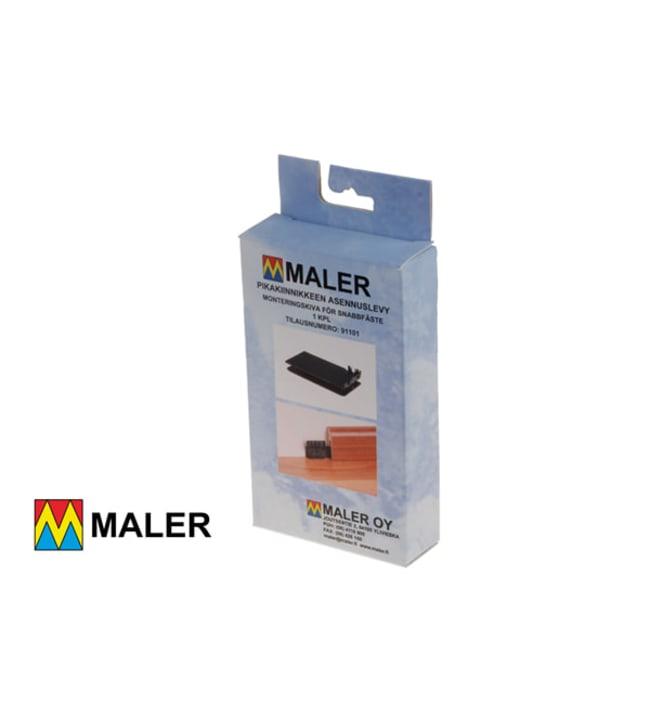 Maler 91101 pikakiinnikkeen asennuslevy