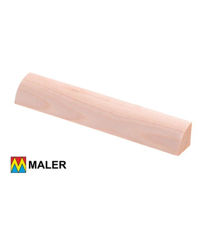 Maler 50552 21x2 x3000 mm neljännespyöreä puuvalmis EM mänty lista