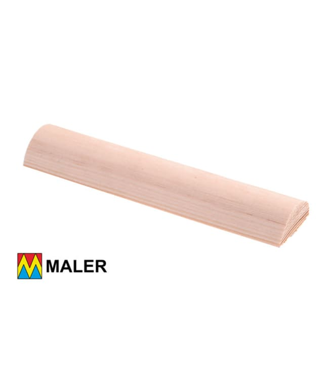 Maler 50603 16x33x3000 mm puolipyöreä puuvalmis EM mänty lista
