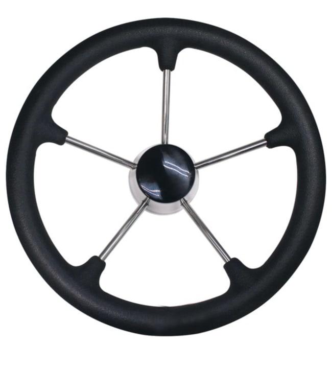 Ohjauspyörä musta AISI316