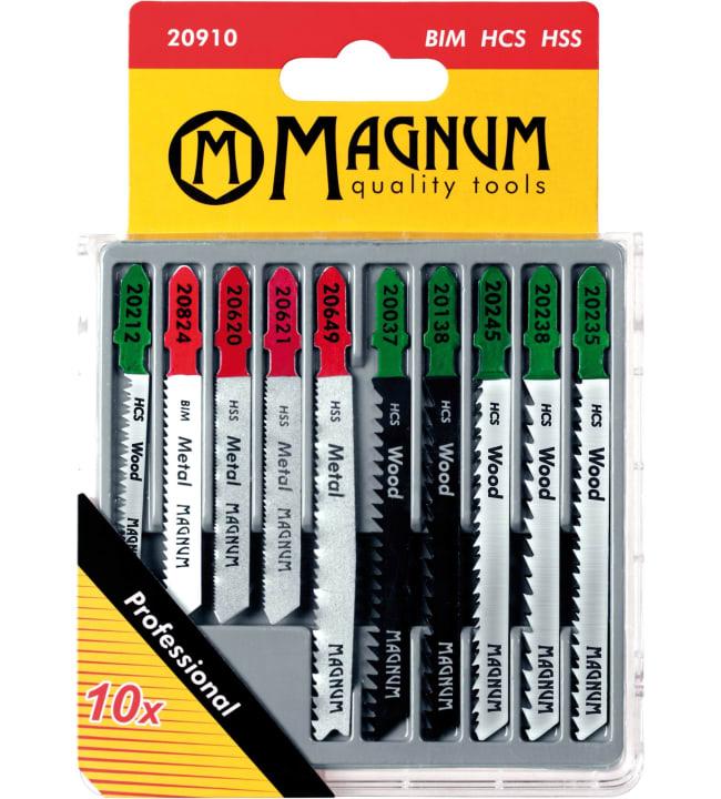 Magnum 10-osainen pistosahanteräsarja