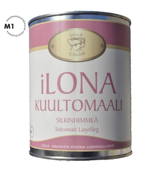 Uula Ilona 9l väritön kuultomaali