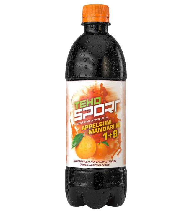 TEHO Sport Appelsiini-Mandariini 0,5 l urheilujuomatiiviste
