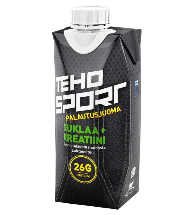 TEHO Sport+ Suklaa+Kreatiini 0,33 l palautusjuoma