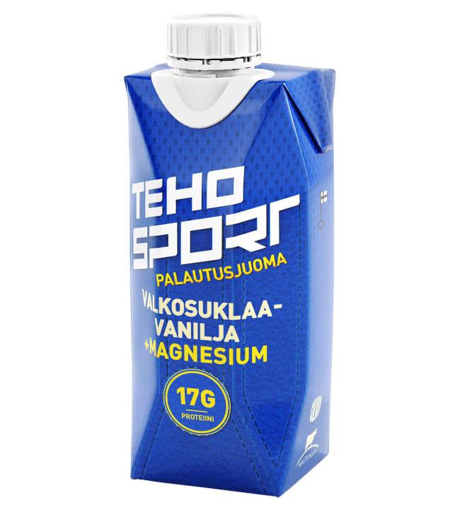 TEHO Sport Valkosuklaa-Vanilja +Magnesium 0,33 l palautusjuoma
