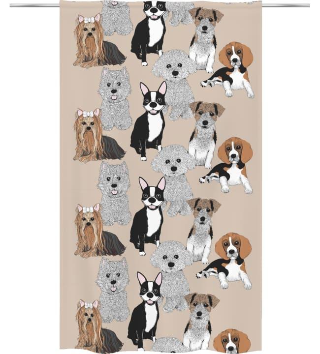 Vallila Doggies 140x240 cm verho