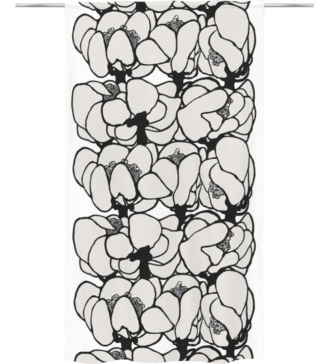 Vallila Makeba Black Out 140x250 cm verho