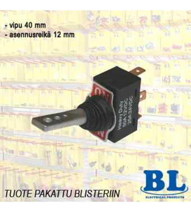 BL 12V on/on vipukatkaisija